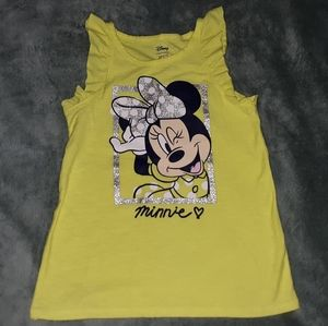 Minnie Mouse Tank Girls Size 7